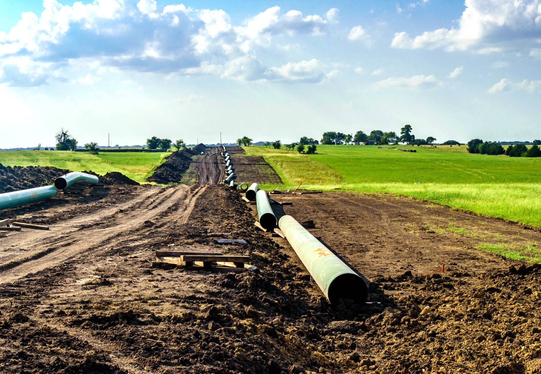 US Will Lead New Build Oil & Gas Pipeline Additions