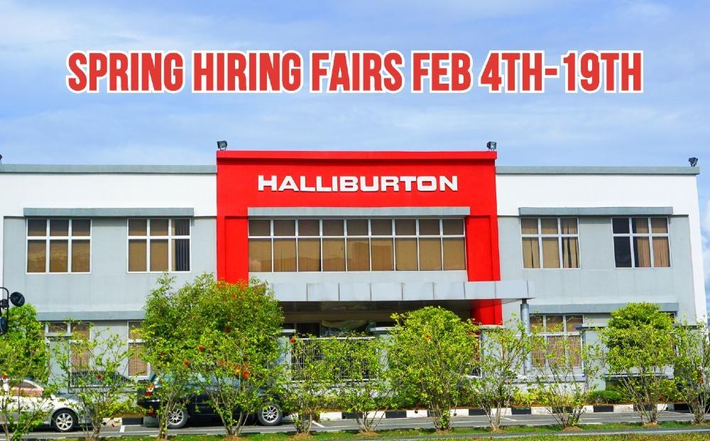 Halliburton Spring Career Fairs Underway
