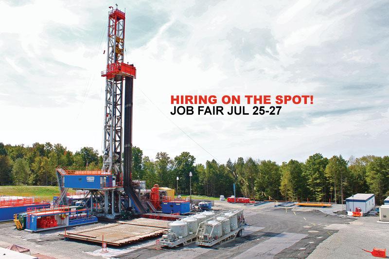 Universal Pressure Pumping (Patterson UTI) Job Fairs July 25-27