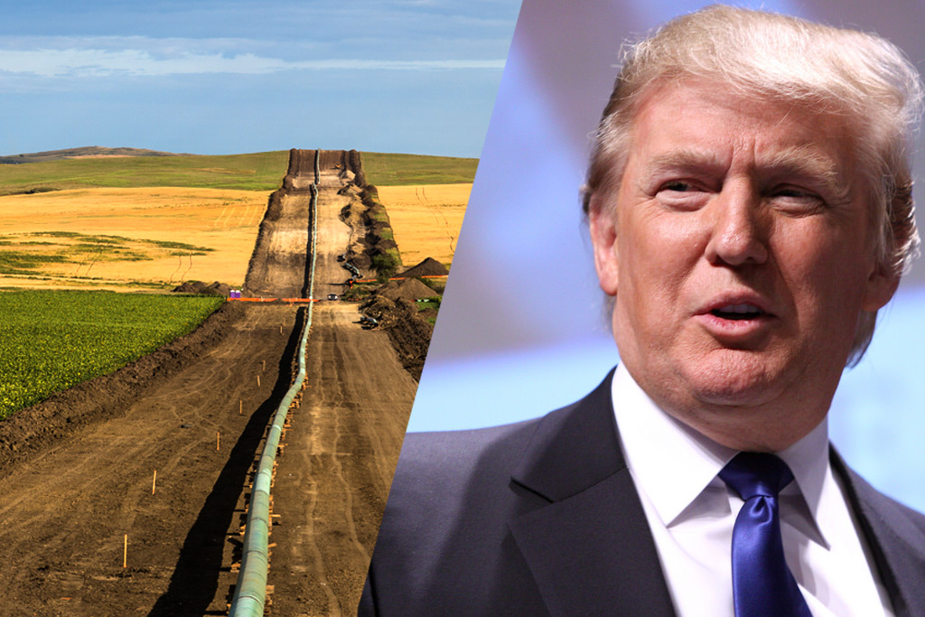 Trump's America-First Pipeline Plan Angers American Oil