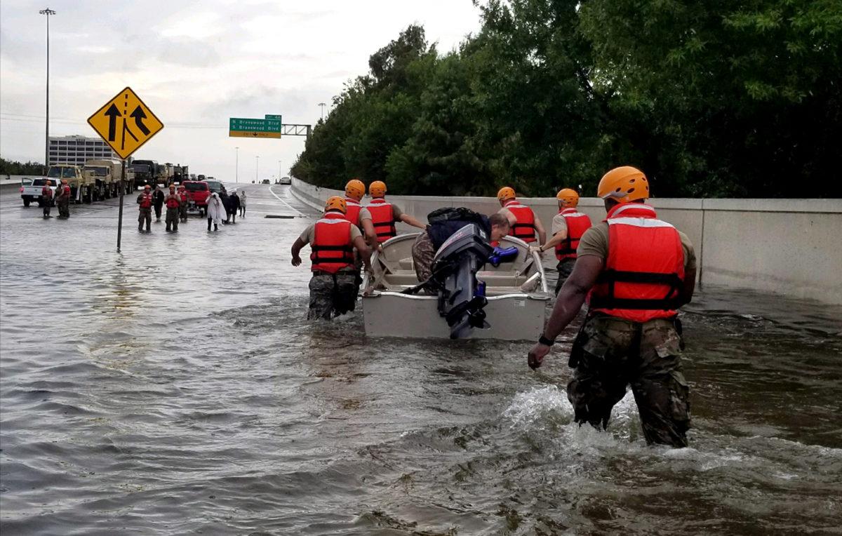 No Oil Rigs Added as Hurricane Harvey Creates Havoc