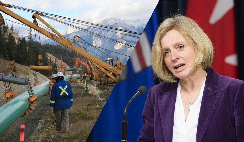 Alberta's Premier Hits the Road in Support of Trans Mountain Pipeline