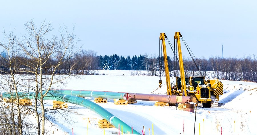 Construction Underway in Clearbrook: Finding Work on Line 3 in MN
