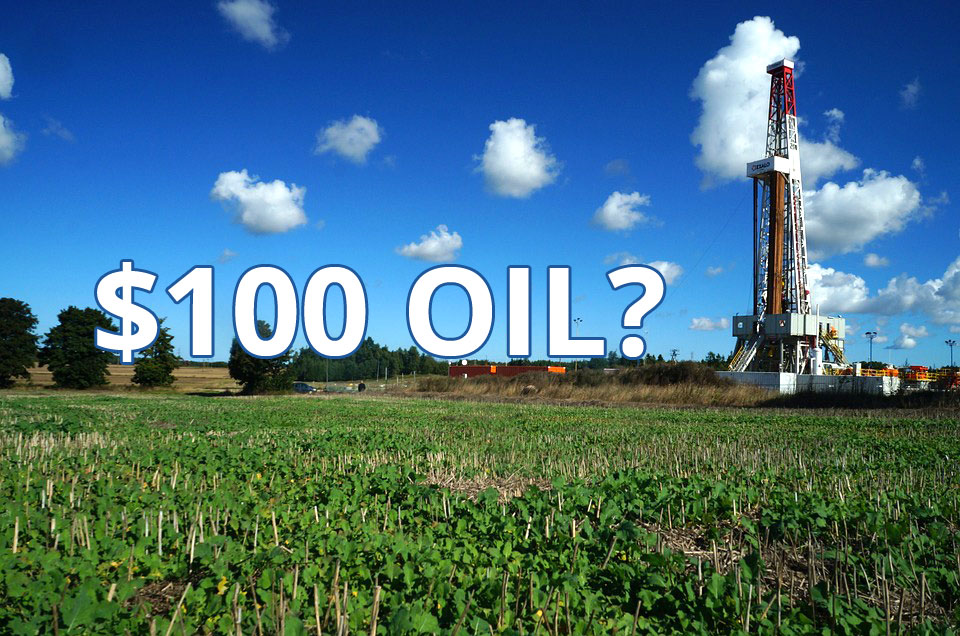 Whispers of $100/barrel oil returning 'briefly' say analysts