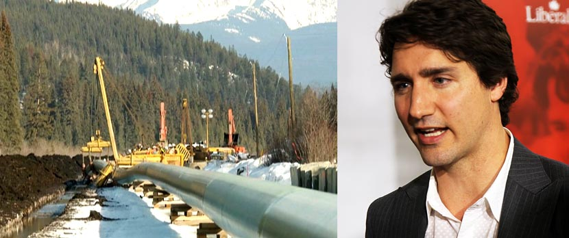 "Trans Mountain Pipeline ""is going to get built"" vows Trudeau"