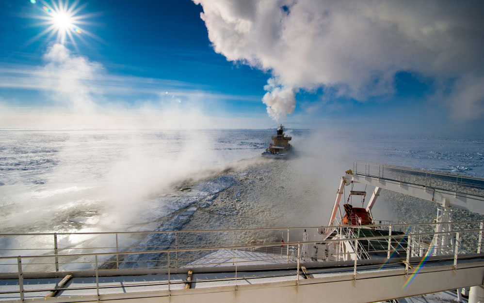Melting Arctic Ice is a Boon for LNG Shippers