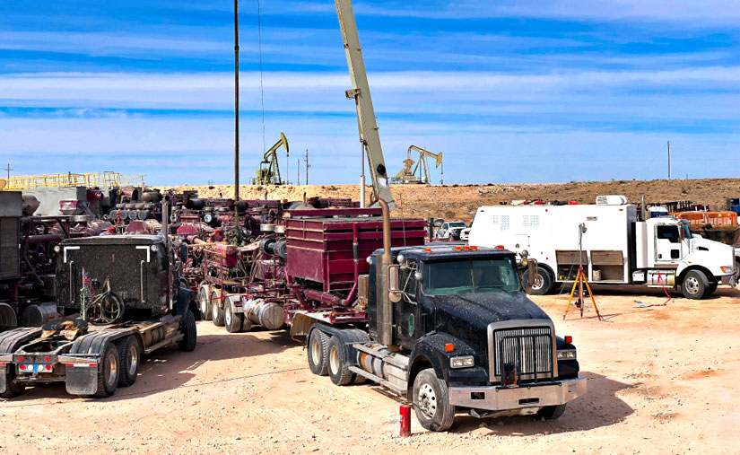 Trucker Shortage Hitting Booming Texas Oil Fields