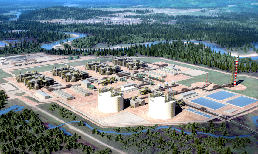 "LNG Megaproject Breaths New Life into Canada's Energy Sector; Construction to start ""Immediately"""