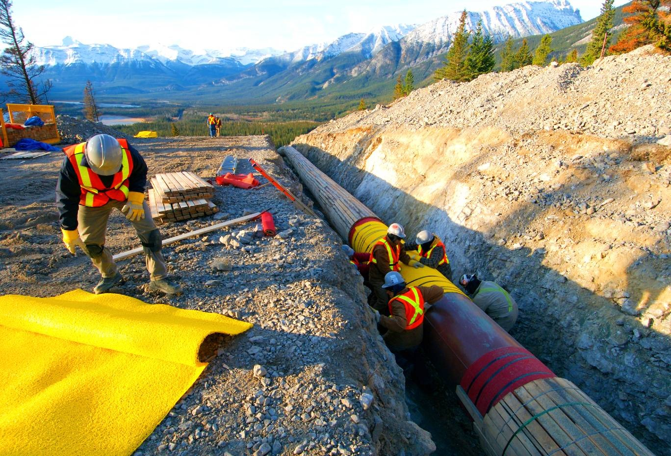 Notice to Proceed: Mobilization of initial TransMountain Workforce